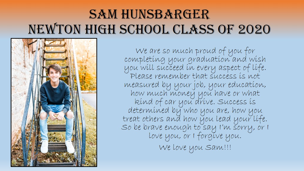 Graduation Hunsbarger